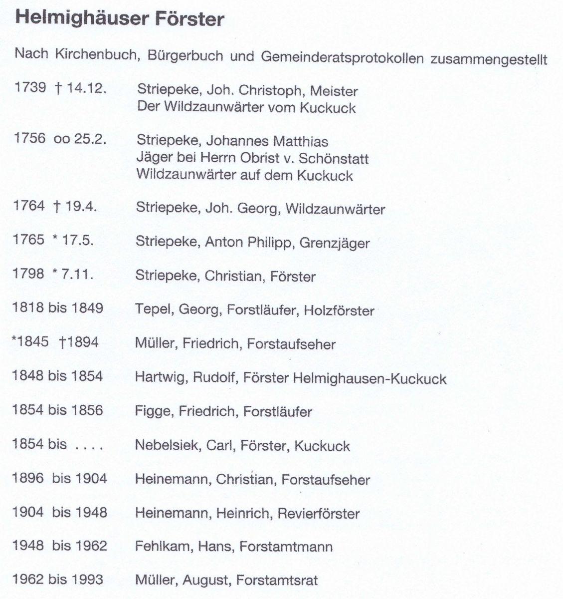 Helmighäuser Förster